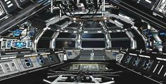 Spaceship Bridge, Control Room.  #spaceships  #starships