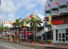 Oranjestad, Aruba- love me some Aruba!! Best island weather ever…