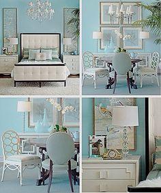 Tiffany Blue Rooms
