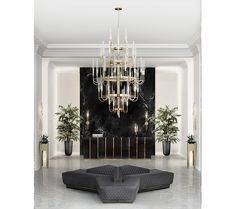 Modern Chandeliers: Bold Choices Made to Impress Hotels Design, Luxury Furniture, Decor, Interior Design Trends, Home Decor, Living Design, Interior Design Projects, Curated Design, Furniture Design