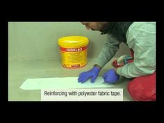 Waterproofing terraces and flat roofs with ISOFLEX - YouTube