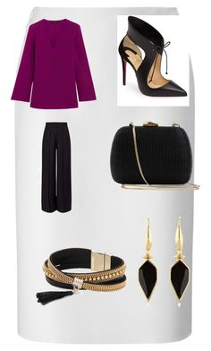 """""""Work party!"""" by cloisteredpurl on Polyvore featuring Lucas Nascimento, Etro, Miss Selfridge, Christian Louboutin, Serpui, Simons and Isabel Marant"""