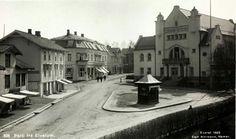 Hedmark fylke Parti fra Elverum Utg Normann 1922
