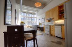 Concrete Column, Concrete Ceiling, Concrete Floors, Toronto Lofts, Yonge Street, High Windows, Multi Family Homes, Guest Suite, Window Wall