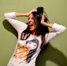 ★tee dal sapor japa★ i miei acquarelli su maglietta donna!