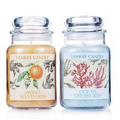 Yankee Candle Set of 2 Botanical Large Jars order online at QVCUK.com
