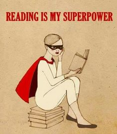 Reading is my super power Gwinnett Library I Love Books, Good Books, Books To Read, My Books, Woman Reading, Love Reading, Reading People, Reading Quotes, Book Quotes