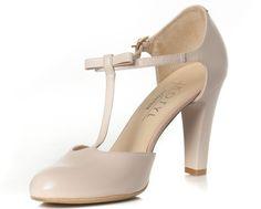 Czółenka KOTYL Różowe Skóra wz.5871 Peep Toe, Heels, Fashion, Heel, Moda, Fashion Styles, High Heel, Fashion Illustrations, Stiletto Heels