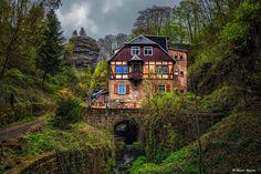 Alemania • Saxony Hohnstein