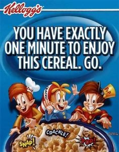 What if advertisers were honest? Kellogg's