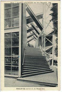 Konstantin Melnikov - Pavilion URSS for Exposition des Arts Décoratifs, Paris, 1925
