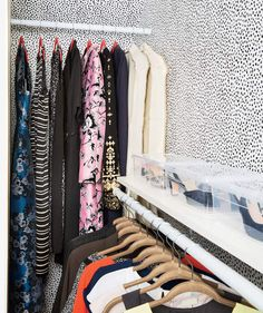 Extra Rod, Easy Upgrade | Too much stuff, too little space, too many wardrobe woes. Perhaps you can relate? Real Simple helped a busy working mom transform her clothes closet, from what's in it to where it all goes. This two-part solution will work wonders for yours, too.
