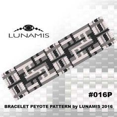 Peyote bracelet pattern even count peyote pattern stitch