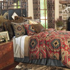 Lovely bedding with Western inspiration