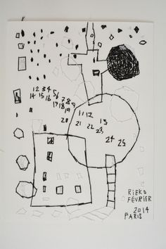 Rieko KOGA - stitching on paper. I can't get enough of Rieko Koga's art.