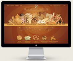 Reading Bakery Systems // Website Design