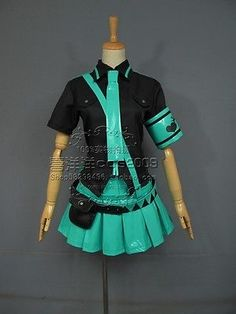 Vocaloid Hatsune Miku Love Is War Cosplay Costume Tailor-made