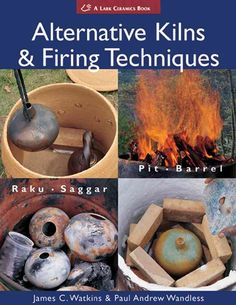 Alternative Kilns and Firing Techniques. Ceramicists searching for new ways to fire their creations now have a wealth of options. Authors demonstrate how to build low-cost, low-tech, yet high-quality kilns. In addition to showing the basic procedures for using each kiln, easy-to-follow directions for many fast-fire methods: you'll see how to achieve terra sigillata surfaces with direct chemical application, and how to do traditional crackle-glaze raku and smoke finishes.