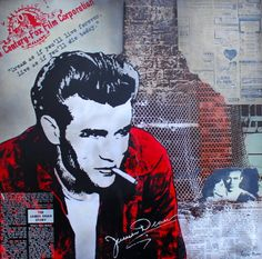James Dean 2  100x100 Alu James Dean, Fictional Characters, Art, Pictures, Art Background, Kunst, Performing Arts, Fantasy Characters, Art Education Resources