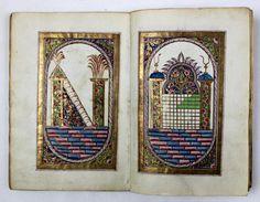 Antique Arabic Islamic Illuminated Manuscript Dala'IL Al Khayrat Signed Dated | eBay