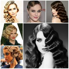 Vintage Finger Wave Hairstyles to Try in 2016