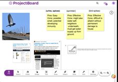 ProjectBoard is designed to help people collaborate on STEM projects online. I tried it out to answer a simple question: How could I get rid of the ra. Water House, Stem Projects, Project Board, Drawing Board, Project Management, Higher Education, Teamwork, Case Study, Helping People