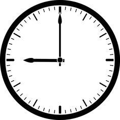 clock clip art - Google Search