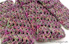 Free Crochet Pattern...Tulip Tree Scarf!