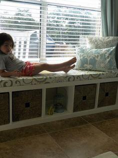 Allen Nursery Chaos In My Casa: DIY Window Bench