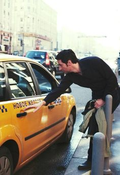 Hm. All the sudden I have the urge to become a cab driver.