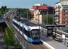 Stockholm Tram Litt A32 (spårvagn) - Wikipedia, Flexity Swift from Bombardier