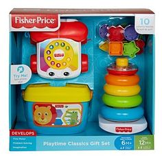 Playtime Classics Gift Set   DRY26   Fisher-Price