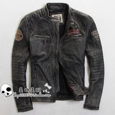 Cool men's leather jacket | My style | Pinterest | Men's leather ...
