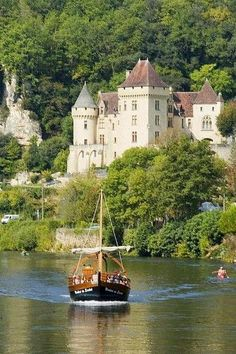 Dordogne River- Britain and Germany. -