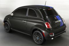 Fiat 500e, Fiat Abarth, Fiat 500 Black, 2012 Fiat 500, Exterior Paint Schemes, City Car, Mopar, Detroit, Super Cars
