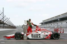 Indy Car Racing, Indy Cars, Dan Wheldon, Indy 500 Winner, Band On The Run, Classic Race Cars, Jim Beam, Car And Driver, Cars And Motorcycles