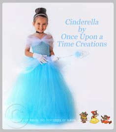 Custom Hand Made Disney Cinderella Inspired Birthday Tutu Dress Size 2T 3T 4T 5T | eBay