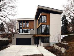 Exterior. Modern Home.