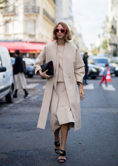 There's nothing boring about neutrals. Layer up a whole look in the same hue — or tones of the same colour ...