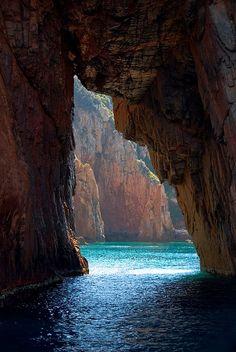 Sea Cave, Isle of Corsica, Italy