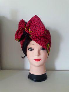 426f7bb72afd8 Turban Kabibi flexible par dyaz-kiha - Turbans et foulards de tête -  Afrikrea