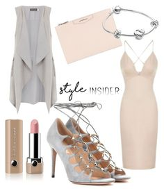 Grey lace up sandals styled with nudes. Minimal chic. by jagaka on Polyvore featuring polyvore, fashion, style, Topshop, Mint Velvet, Valentino, Givenchy, Pandora, Marc Jacobs, clothing, contestentry, laceupsandals and PVStyleInsiderContest