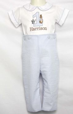 Bunny Romper for Baby Boy Easter Outfit, Peter Rabbit Outfit for Boy, Boys Easter Outfit, Boy Easter Outfit 293346
