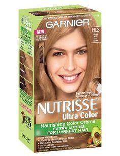 Garnier Nutrisse Ultra Color Creme, HL3 Golden Honey (Pack of 2) *** Want additional info? Click on the image.