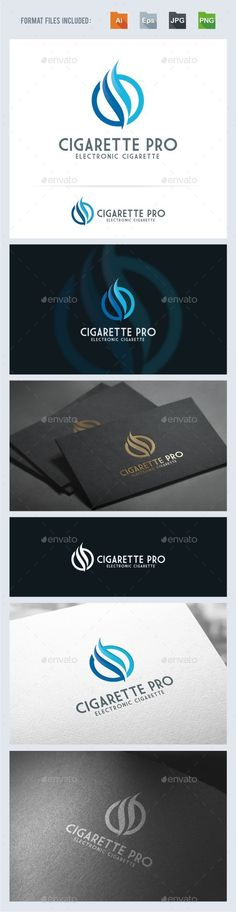 Cigarette - Flame Logo Template Vector EPS, AI. Download here: http://graphicriver.net/item/cigarette-flame-logo-template/11525425?ref=ksioks