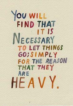 To quote Disney, let it go :)