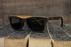 """Shwood, who are famed for their inventive wood framed glasses, have teamed up with Bushmills Irish Whiskey to create """"The Bushmills"""" Whiskey Barrel sunglasses - Limited edition Wooden Sunglasses, Irish Whiskey, Swagg, Hypebeast, Whisky, Eyewear, Mens Fashion, Fashion Menswear, Stylish"""