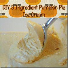pie ice, ingredi pumpkin, diy pumpkin, pumpkin pies