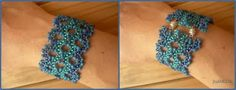 Bead & Button Magazine, Issue 93, October 2009, pp. 42-44.  It took about 6 hrs to accomplish.