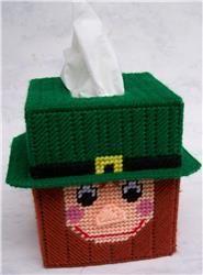 St. Patrick's Day Leprechaun Tissue Topper